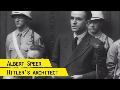 Last words by Albert Speer at the Nuremberg Trials (with subtitles)