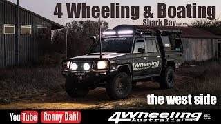 4 Wheeling & Boating Shark Bay, part 7/8 the west side
