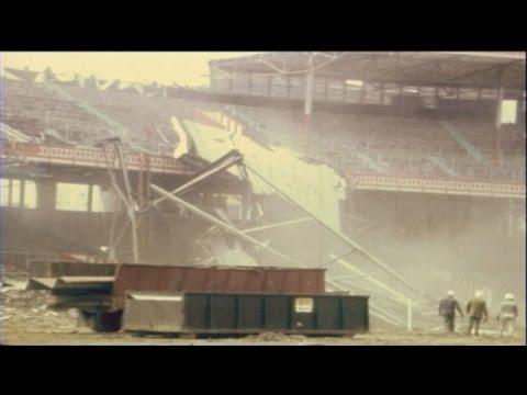 Crosley Field demolished