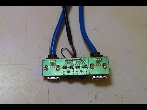 Conector Jack hembra (de PC) no funciona | Circuito impreso dañado