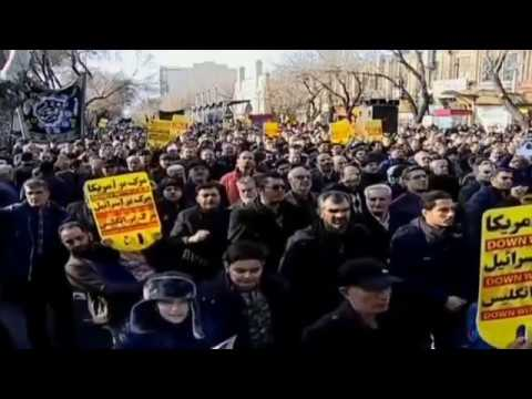 U.S. airstrike kills Iranian General Qasem Soleimani | Protest Against U.S | Raw Footage.