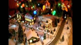 Lionel 027 Christmas tree Village