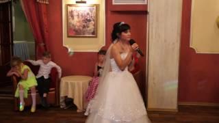 Слова благодарности родителям на нашей свадьбе!!!