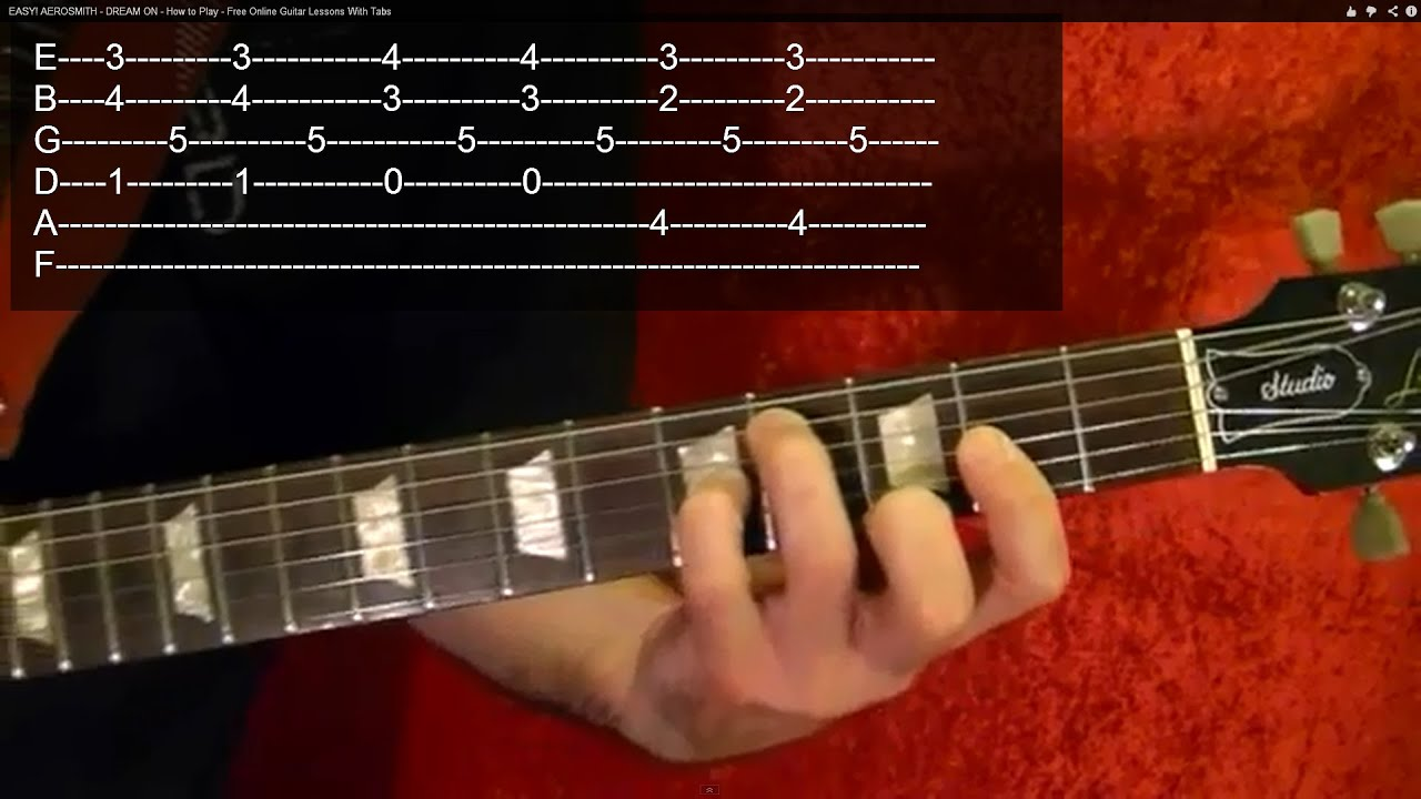 Free Guitar Lesson Videos