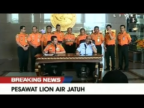 Indonesian plane crashes into sea near Jakarta, wreckage found