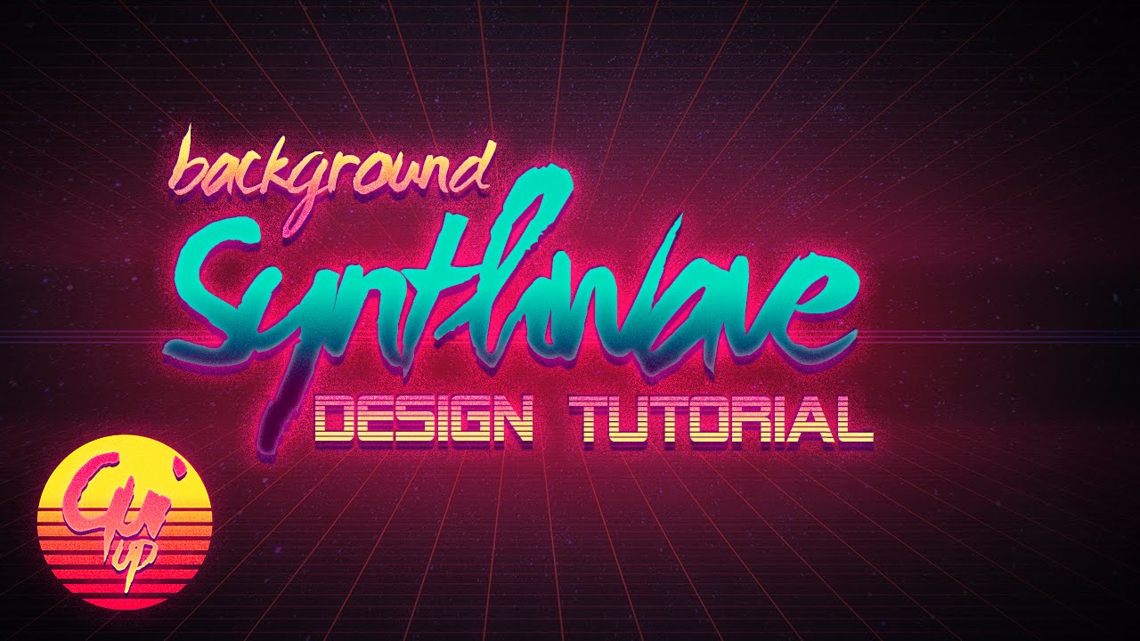 (Part 1) Synthwave Design Series: Synthwave Background