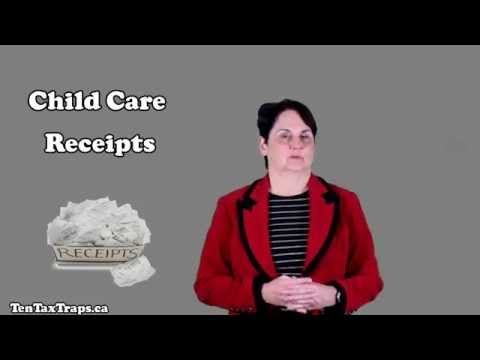 Tax Strategy #5-Child Care Receipts