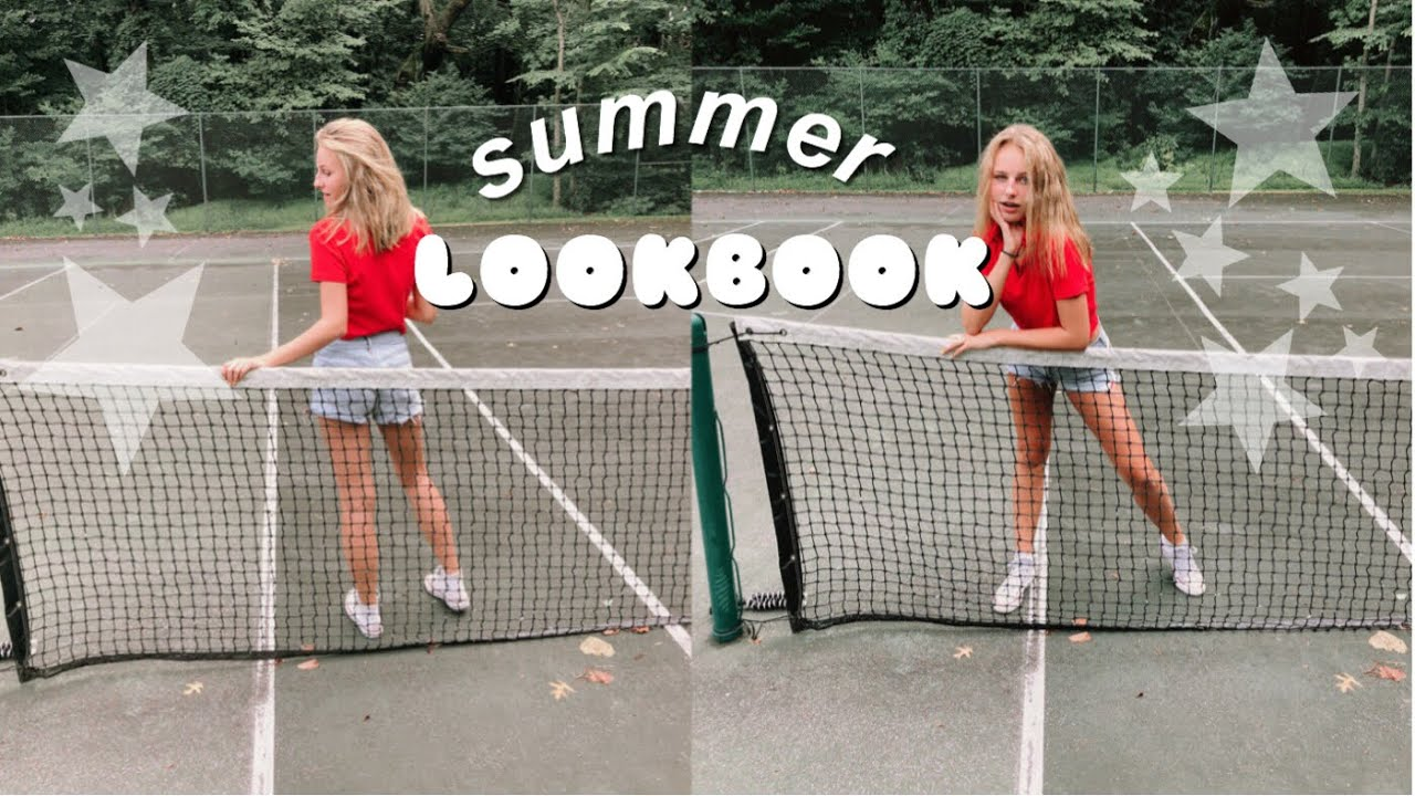 summer outfit lookbook!! // supersisters