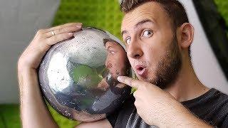Wielka aluminiowa kula wyszlifowana do perfekcji! Japanese Foil Ball Challenge