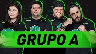 GRUPO A  - AM3NIC, DAVY JONES, ELLEN SIMILI E PATIFE   #MTVLogBR