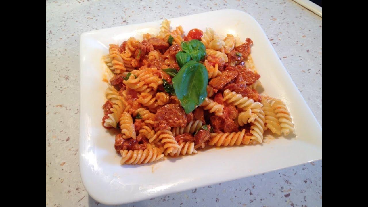 jamie oliver rezepte pasta salsiccia