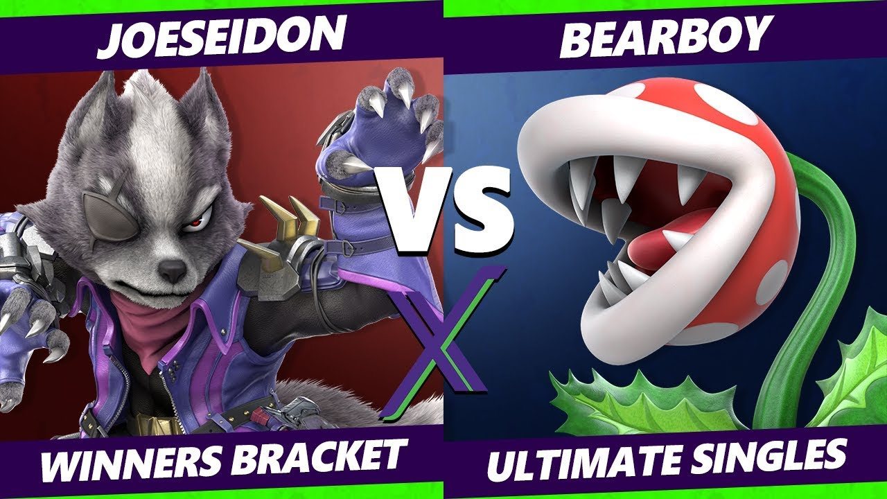 Smash Ultimate Tournament - Joeseidon (Wolf) Vs. BearBoy (Piranha Plant) - S@X 289 SSBU Winners R1