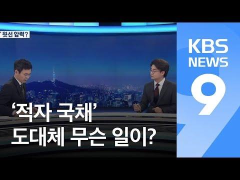 '적자 국채' 발행 추진은 사실?…'靑 압력' 주장 진실은? / KBS뉴스(News)