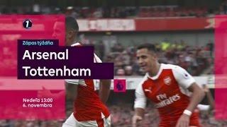 Zápas týždňa 11.kolo ARSENAL - TOTTENHAM na DIGI Sport