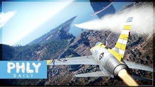 F-100D SUPER SABRE | FOX 2 (War Thunder Supersonic Jets Gameplay)