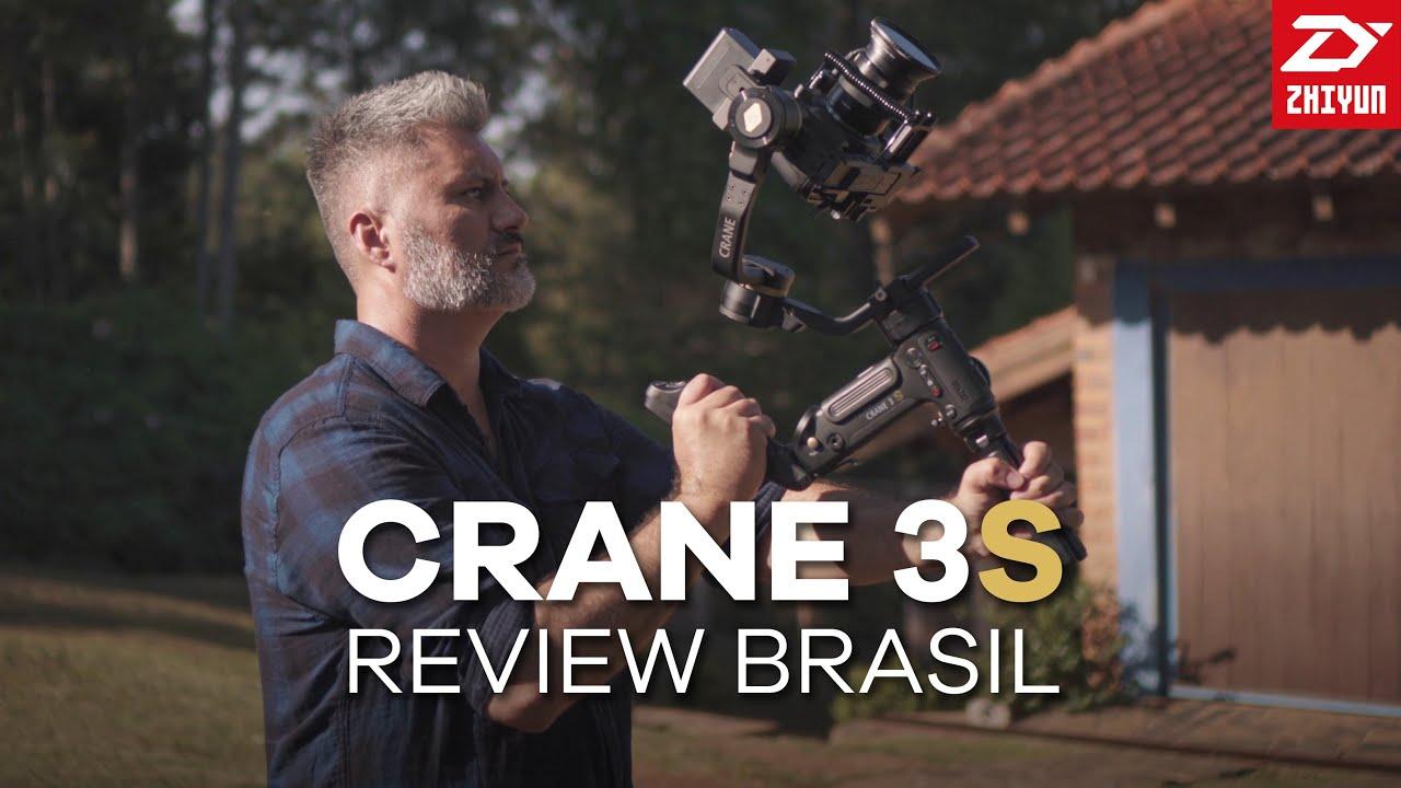 Zhiyun Crane 3S: Review Brasil