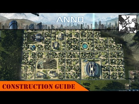 Anno 2205: Construction Guide - City Layouts + Public Buildings
