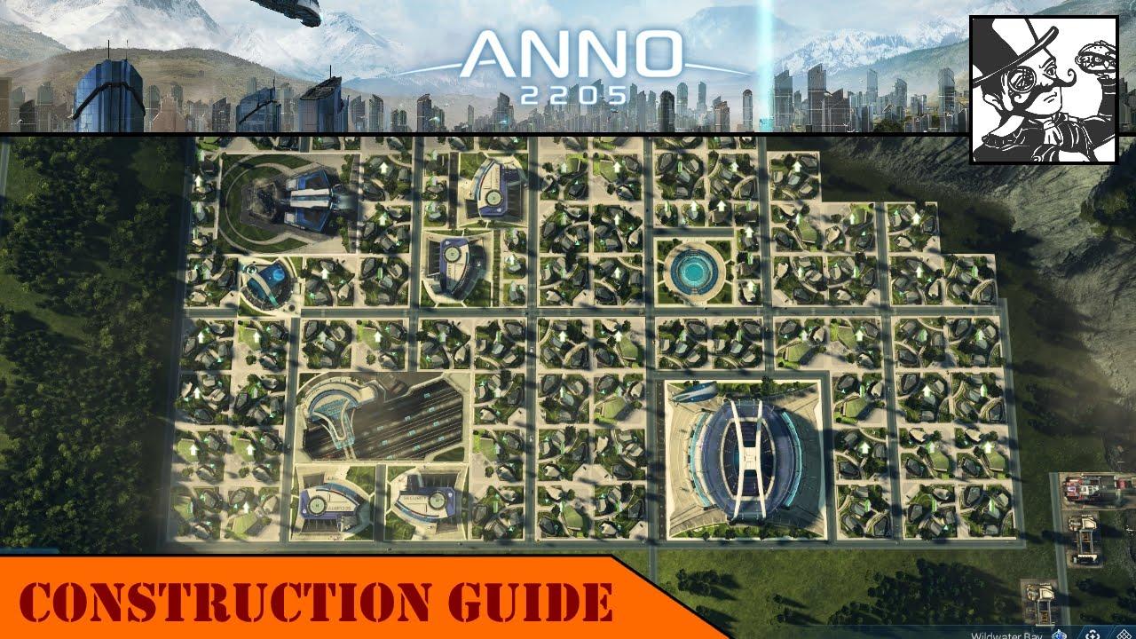 Anno 2205 Construction Guide  City Layouts  Public