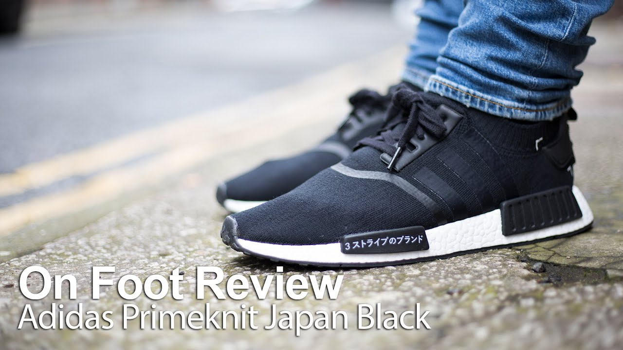 Adidas Nmd R1 Primeknit Japan Black Boost