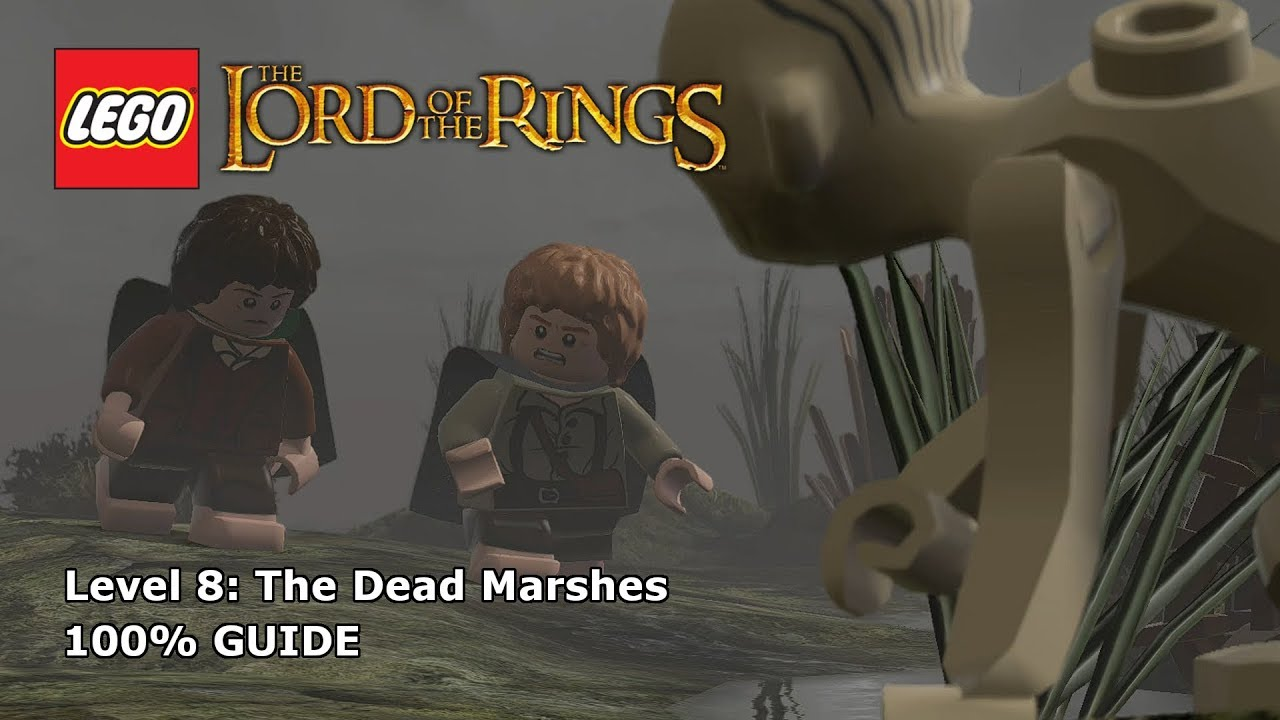 LEGO Lord Of The Rings The Dead Marshes 100% Guide