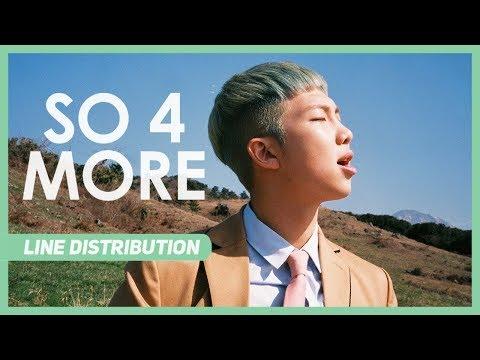 BTS (방탄소년단) – So 4 More (Line Distribution)