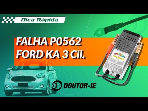 Ford Ka 3 Cilindros - Falha P0562: Tensão Baixa da Bateria | Doutor-IE