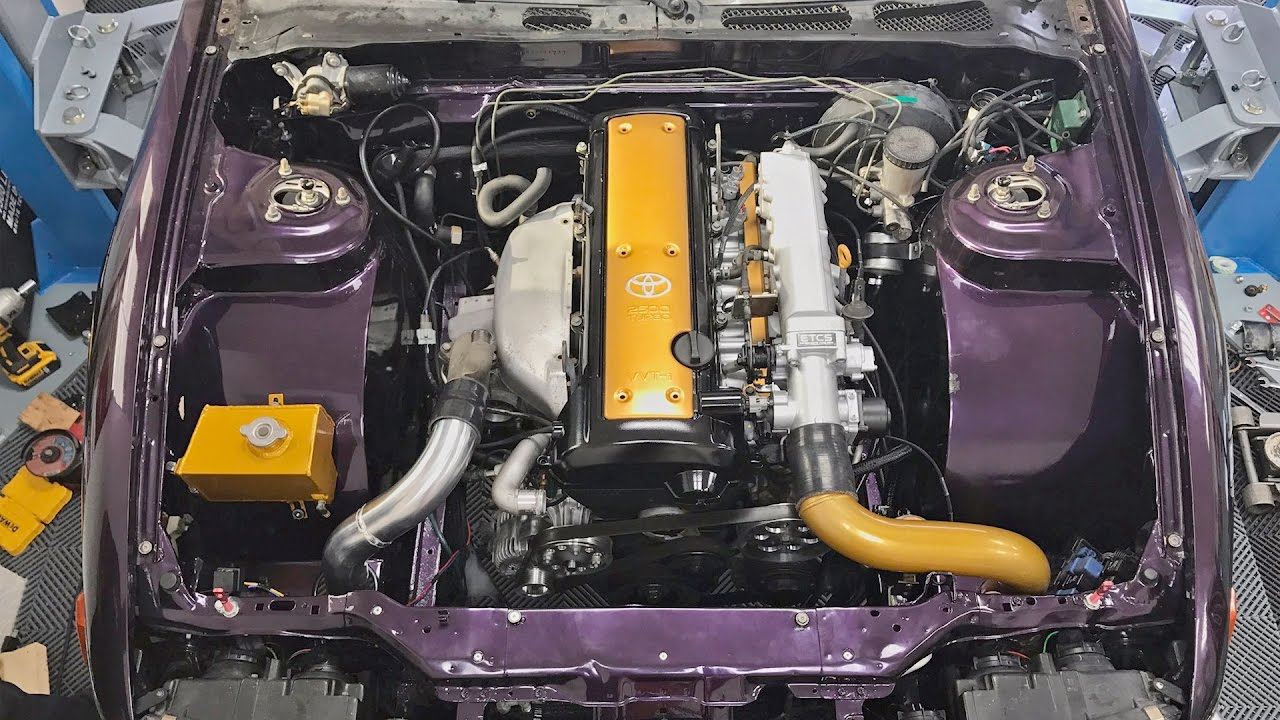 1jz Challenge - Engine Install  U0026 First Start
