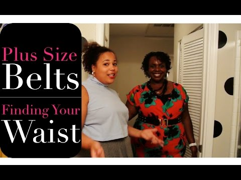 Plus Size Belts - Finding Your Waist