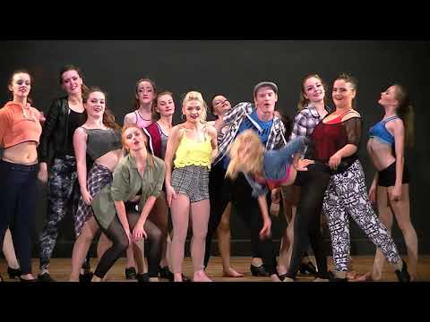 NORTH WALES SCHOOL OF DANCING - UPTOWN FUNK & WE ARE FAMILY - FINALE