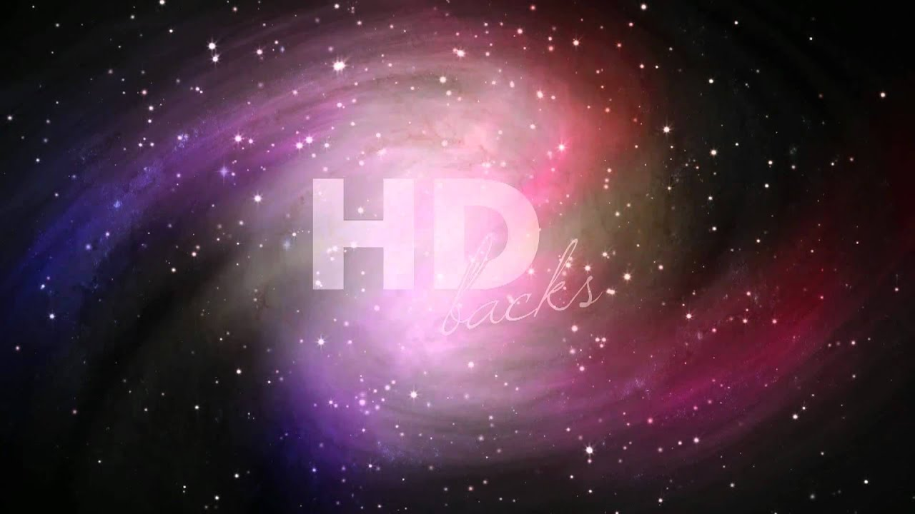 swirling galaxy - hd background loop - youtube
