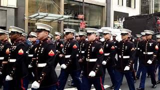 Veterans Day Parade~NYC~2011~Marine Corp~NYCParadelife