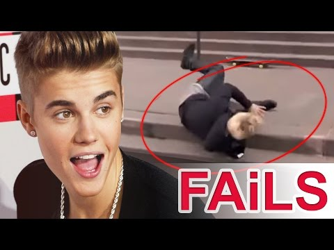 Justin Bieber MOST EPIC FAILS!
