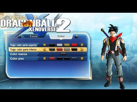 Dragon Ball Xenoverse 2: Colores para todos los Trajes!!! HUM/SYM [MOD]
