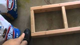 Diy Fish Tank Stand Part 1