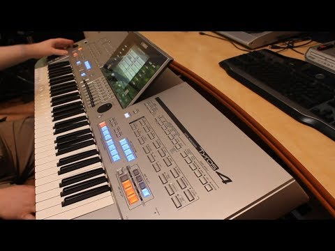 Ritmuri si tonuuri Romanesti Yamaha TYROS 4 Styles Pachet Program Genos PSR