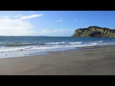 Amazing beach in Whangaparaoa, Auckland