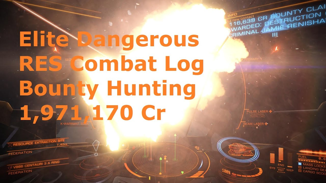 how to get rid of bounty elite dangerous