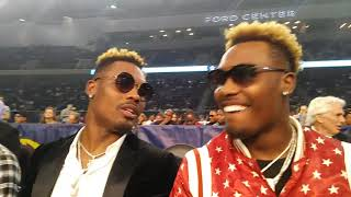Jermell Charlo grades his performance& responds to Birds Memes