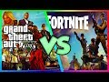 🔥GTA 5 VS FORTNITE! WHICH ONE IS BETTER?🔥 GTA 5 VS FORTNITE BATTLE ROYALE COMPARISON