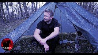 Thick Dense Fog aฑd Heavy Rain - Day Camp Escaping the Virus Adventure