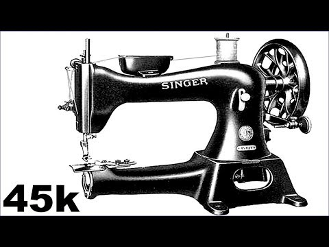 SINGER 45k / Sewing Leather