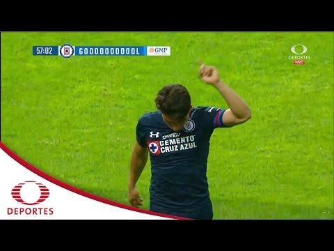 Gol de Mena | Toluca 0-1 Cruz Azul | Clausura 2017 - Jornada 10 | Televisa Deportes