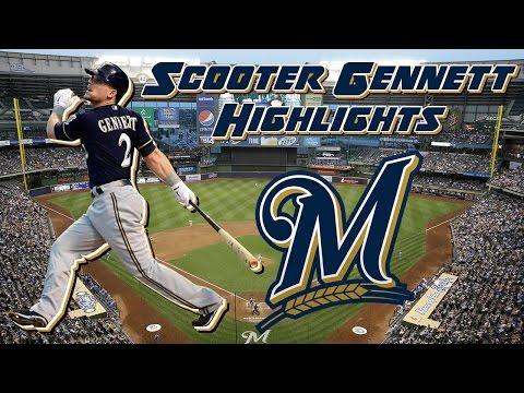 Scooter Gennett 2016 Highlights