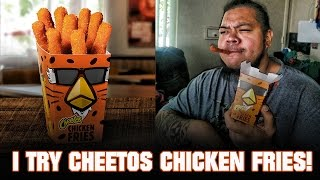 Sione Tastes the Burger King Cheetos Chicken Fries and the Whopperito