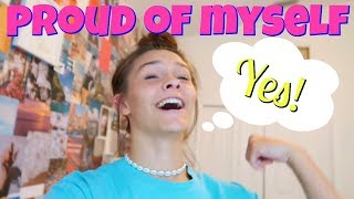 I am Beyond PROUD of myself! Getting my life Together! | Emma and Ellie