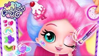 Candylocks Hair Salon & Makeup Makeover - Color, Style & Design Creative App For Girls