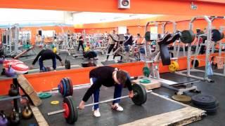 Игорь Шашов рывок завязанными глазами 60 кг в стойку