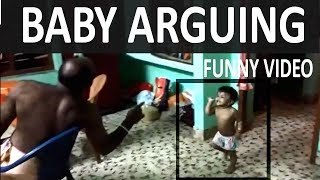 BABY ARGUING WITH PARENTS| KIDS ARGUING | FUNNY BABY | KERALA KIDS