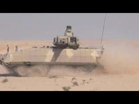 PSM Projekt System & Management GmbH - Puma Infantry Fighting Vehicle Live Firing [480p]
