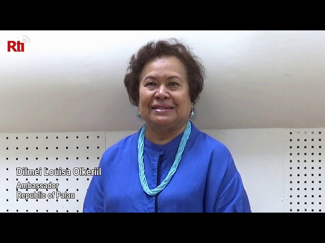 Interview with Ambassador Dilmei Louisa Olkeriil from Palau【央廣英語】